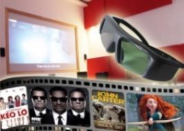 Hà Nội - Cầu Giấy: Giảm giá 43% - Combo 2 vé xem phim 3D hoặc 2D kèm 2 sinh tố tự chọn và bắp rang bơ tại TheO coffee