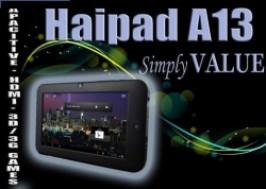 TP. HCM - Quận 6: Giảm giá 48% - Voucher giảm giá máy tính bảng siêu mỏng Haipad A13