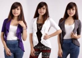 Hà Nội - Hai Bà Trưng: Giảm giá 51% - Áo khoác len nữ điệu đà cho bạn gái