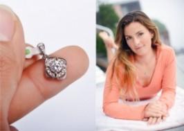 Hà Nội - Hoàn Kiếm: Giảm giá 48% - Mặt dây chuyền bạc đính đá