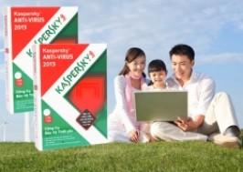 Hà Nội - Hai Bà Trưng: Giảm giá 38% - Kaspersky antivirus 2013