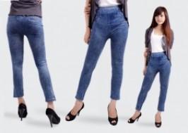 Hà Nội - Hai Bà Trưng: Giảm giá 50% - Combo 2 quần legging giả jean