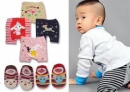Hà Nội - Từ Liêm: Giảm giá 50% - Combo 1 quần mông thú và 2 đôi tất len cho bé