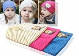 Hà Nội - Hai Bà Trưng: Giảm giá 50% - Combo 2 mũ chấm bi cho bé