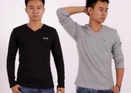 Hà Nội - Hai Bà Trưng: Giảm giá 36% - Áo thun len pha cotton cổ tim BINBOY