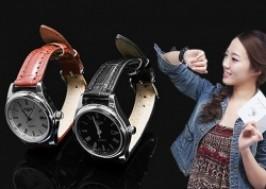 Hà Nội - Hai Bà Trưng: Giảm giá 36% - Đồng hồ dây da nữ chống nước cao cấp