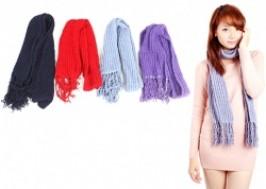 Hà Nội - Hoàn Kiếm: Giảm giá 55% - Combo 2 khăn len dài ấm áp