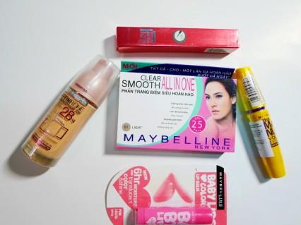 Bộ 5 sản phẩm của MaybelineT6