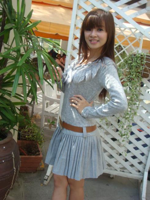Đầm Xếp Ly Hàn Quốc Kèm Dây...