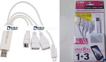 Hub Đa Năng (3 cổng USB và 1...