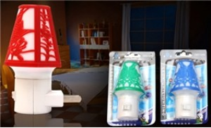 Combo 02 đèn ngủ họa tiết đem đến cho bạn giấc ngủ ngon lành