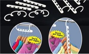 Nhà gọn đẹp hơn với móc treo quần áo đa năng Magic Hanger gồm 8 móc