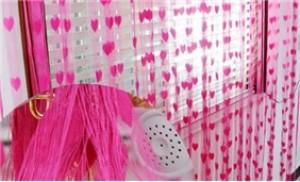 Rèm cửa hình trái tim Hàn Quốc - Trang trí không gian nhà bạn