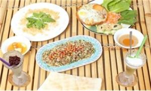 Set menu 05 món dành cho 2 người đậm đà hương vị xứ Huế tại Quán Lá
