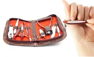 Chăm sóc móng đẹp của bạn với bộ chăm sóc móng gồm 10 dụng cụ