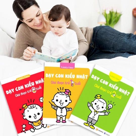 Bộ sách dạy con kiểu Nhật (3 quyển) - Sách Thái Hà