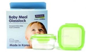 Bộ 2 hộp thủy tinh cao cấp 150ml bảo quản đồ ăn Glasslock Hàn Quốc