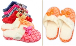Dép lông đi trong nhà - Giữ ấm đôi bàn chân của bạn