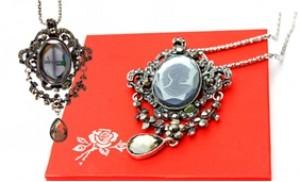 Vòng cổ đá quý Victorian Cameo Lady - quyến rũ và sang trọng - 1 - Thời Trang và Phụ Kiện