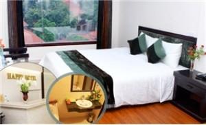 Nghỉ dưỡng 2N1Đ cho 02 người tại Happy Hotel 3 sao - Hà Nội - Du Lịch Trong Nước