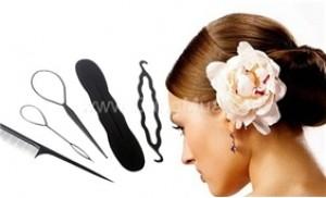 Điệu đà và cá tính hơn cho mái tóc với Combo 5 dụng cụ búi tóc X Style
