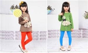 Combo 02 quần legging cho bé gái từ 1 - 6 tuổi ấm áp, điệu đà