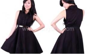Đầm Blackert cổ áo sơ mi cho bạn gái ấn tượng nơi công sở Tại cung mua - 1 - Thời Trang và Phụ Kiện