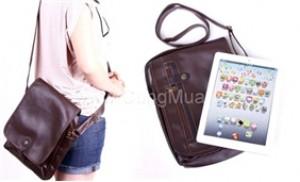 Túi đeo quai chéo cho iPad, thời trang và tiện dụng