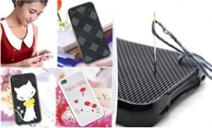 Ốp lưng iPhone 4 thêu chữ thập với mẫu độc đáo, đẹp mắt - 1 - Gia Dụng