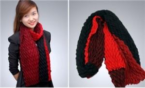 Khẳng định phong cách của bản thân với khăn thu nữ