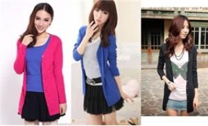 Dịu dàng dạo phố với áo khoác thu nữ thời trang - 1 - Thời Trang và Phụ Kiện