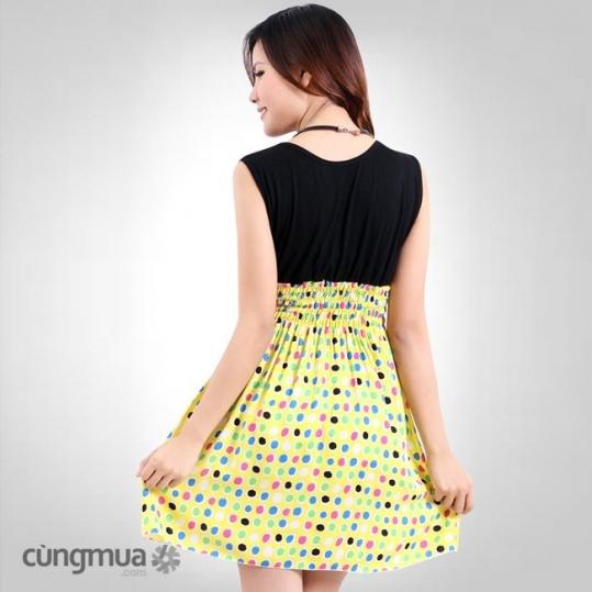 Đầm chấm bi thời trang