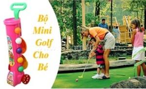 Bộ golf 15 món cho bé vui chơi và làm quen với môn thể thao thượng lưu