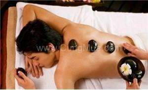 Massage body đá nóng tại Sơn Trà spa. Áp dụng cho cả nam và nữ