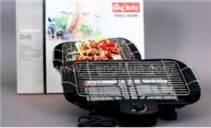 Thưởng thức BBQ tại nhà với bếp nướng điện không khói King Lucky