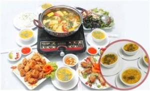 Set ăn Gà ta cho 03 - 04 người tại NH Đồng Giao khuyến mãi cực sốc