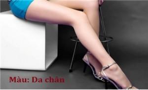 Tự tin diện váy ngắn với combo 02 quần tất da chân: Đen, da