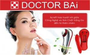 Máy Doctor Bai rửa mặt, làm sạch da, hết nhờn - KM 01 ĐẦU MÁY MASSAGE
