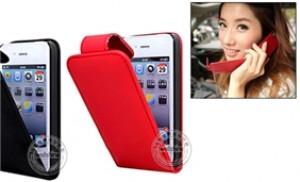 Bao da iphone 4, 4S cao cấp - bảo vệ an toàn dế yêu mọi lúc mọi nơi