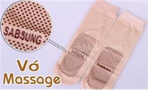 Bảo vệ chân & xoa dịu nhức mỏi với Combo 05 đôi vớ massage