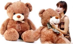 Qùa tặng giáng sinh với Gấu bông cao cấp siêu bự, chất cực đẹp