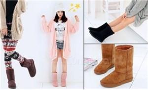 Boot lông cao cổ cho nam, nữ thêm ấm áp và phong cách trong mùa đông