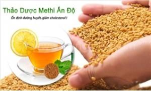 Kiểm soát đường huyết,hạ cholesterol,chống ung thư với Methi Ấn Độ