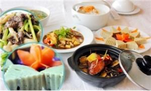 Set ăn chay cho 03-04 người tại Nhà hàng cơm chay Hồ Tây