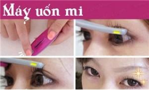 Uốn mi cong gợi cảm trong 3 phút với máy uốn cong mi Touch Beauty .cùng mua.com
