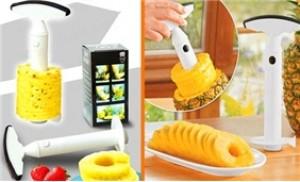 Tách lõi và gọt thơm thật dễ dàng và tiện lợi với dụng cụ lấy lõi thơm