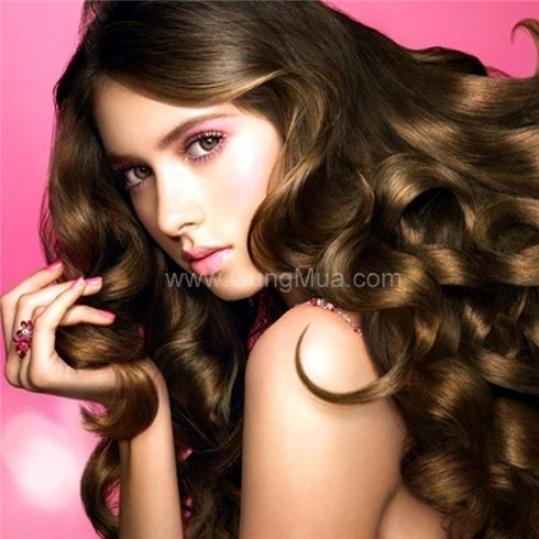 Làm tóc trọn gói và đắp mặt nạ collagen vàng - Cali Spa