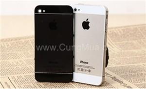 Biến iPhone 4/4S thành iPhone 5 thời thượng, 2 màu đen và trắng