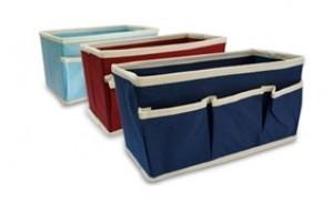 Combo 03 hộp vải đa năng, chất liệu vải không dệt, có thể xếp lại