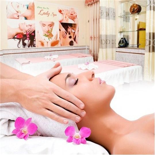 Bấm huyệt Massage toàn thân & Chăm sóc da mặt Laydy Spa (Voucher)